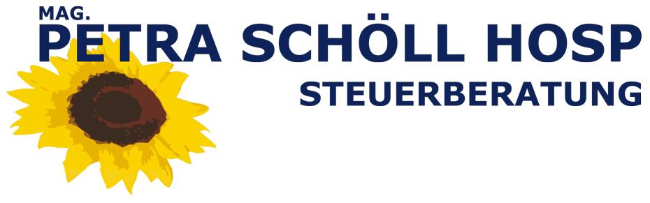 Logo: Mag. Petra Schöll-Hosp Steuerberatung